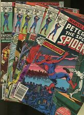 Peter Parker, the Spectacular Spider-Man 10,11,12,13,17,19 *6 Books* Marvel!
