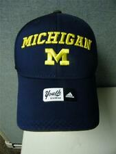 Michigan Wolverines Adidas Fitmax '70 Youth One Size Fits Most Hat Cap