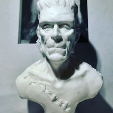 Frankenstein Resin Model Kit Bust Classic Monster Boris Karloff Unpainted