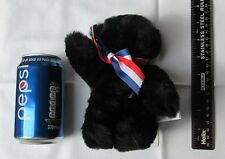"Merrythought Black Teddy Bear - ""Hope"" - number 13,591 of the limited edition"