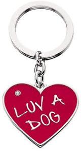 LittleGifts Luv a Dog Keychain and Charm Set