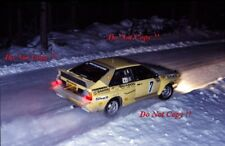 Lasse Lampi Audi Quattro A1 Swedish Rally 1983 Photograph 1