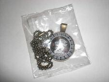 Om Pendant , Om Symbol Necklace , Namaste Yoga Jewelry, Tibetan silver XP-1501