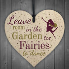 Novelty Fairy Garden Gardening Shed Hanging Wooden Sign Chic Plaque Decor Gift