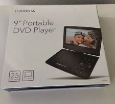 "Insignia 9"" Portable Dvd Player Ns-P9Dvd15 Black With Original Box, New Other"