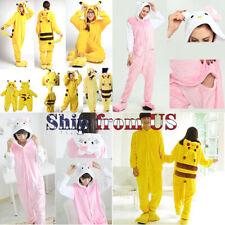 Kids Boy Girl Adult Costume Cosplay Kigurumi Pajamas Animal Cartoon Jumpsuit