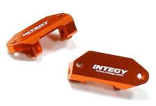 C25484ORANGE Integy CNC Machined Caster Blocks for Traxxas 1/10 Nitro Slash 2WD
