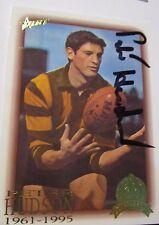 Peter Hudson (Hawthorn FC) signed AFL Hall of Fame Card + Photo Proof & COA