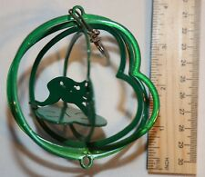 """Small 3"""" Frog Green Wind Spinner Garden/home Decor - Never Used"""