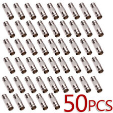 50 Pcs -Ls Bnc Female To Bnc Female Connector couplers Adapter For Cctv Camera
