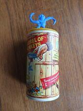 Vintage Barrel Of Monkeys Game - Peter Pan Playthings