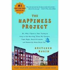 The Happiness Project: Or, Why I Spent a Year Tryin..., Gretchen Rubin Paperback