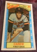 Rod Carew 1979 Kellogg's 3-D Superstars Card # 13, Minnesota Twins MLB HOF'er