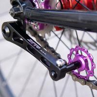 Aluminium Alloy Single Speed Bike Bicycle Chain Tensioner Adjuster Fastener