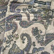 CITIZENSofHUMANITY Corduroy Pasley Pattern Jeans Size 28