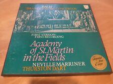 Philips BACH Brandenburg Concertos Marriner Academy St.Martin 6700 045 2LP VG+