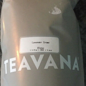 🌈🌷 NEW! SOOTHING TEAVANA LAVENDER CREME LOOSE LEAF TEA 2OZ SEALED BAG! 🌷🌈