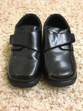Sonoma Lifestyle Boy's Black Man-Made Leather Dress Shoes, size 11M