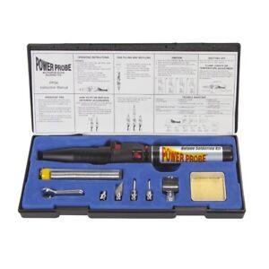 Soldering Iron Kit Butane Gas Portable Auto Diagnostic Car Test Tool Solder Tips