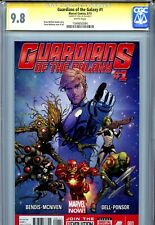 Guardians of the Galaxy Vol 3 1 CGC 9.8 SS McNiven cover Stan Lee Rocket Groot