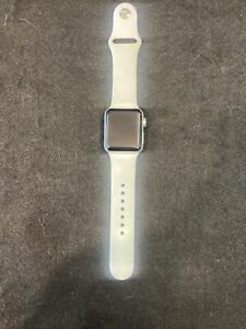 Apple Watch Series 3 38mm Silver Aluminum Case ION X Glass GPS WR 50m