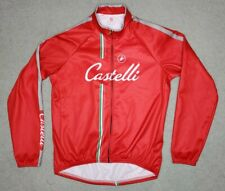 Castelli Men's Cycling Blue Fleece Lined Jacket XXL