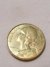 New listing 1987 Centimes Francaise Republic France Collectible Coin Foreign Money Currency
