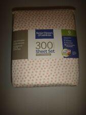Better Homes &Gardens 300 Thread Count 4-Pc Queen Q Sheet Set 100% Cotton Sateen