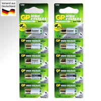 10x Batterie 23A 12V LR23 LR23A 23AE MN21 LRV08 A23S A23 L1028 Alkaline Battery