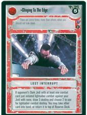 Star Wars CCG Reflections III 3 Premium Clinging To The Edge