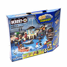 206 Pieces Hasbro Kre-O City Ville Invasion Marina Madness Construction Cadeau