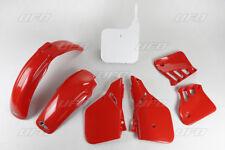New Honda EVO CR 125 87 88 OEM 88 Colour Red White Plastic Kit Plastics