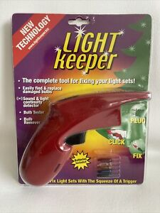 Light Keeper Complete Tool For Fixing Christmas Light Sets Bulb Tester NIP