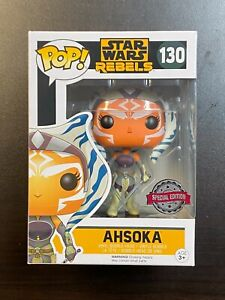 Funko POP Star Wars Ahsoka #130 Special Edition Exclusive / Hot Topic