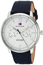 Tommy Hilfiger Original 1791358 Men's Sophisticated Sport Blue Fabric Watch 40mm