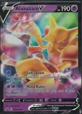 Pokemon Alakazam V SWSH083 black star promo mint condition