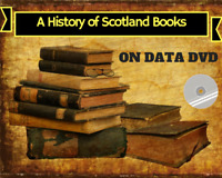 Vintage History of Scotland Collection - 108 Rare Books on DVD - Genealogy Clans