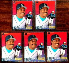 1993 Bowman KEN GRIFFEY, JR ~ 5 CARD LOT ~ FATHER & SON FOIL CARDS