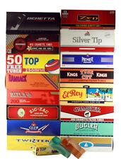 RYO/MYO Cigarette Tube Sampler FULL FLAVOR KING SIZE Premier Zen + (16 Cartons)