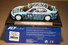 Slot car SCX Scalextric Fly 88157 BMW 320d 24H. Barcelona 2004 Caixa Renting