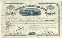 Oil Creek & Allegheny River Railway Railroad Stock Certificate Pennsylvania