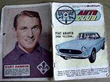 Auto Club 835 1962 Fiat Abarth 2400 Ellena - Kurt Hamrim Fiorentina