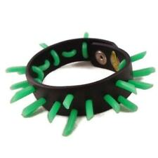Spiked Snap Bracelet Glow in the Dark