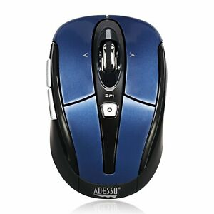Adesso Ergonomic iMouse S60 - Wireless Optical Mouse