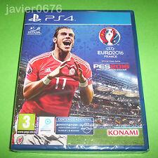 PES 2016  UEFA EURO FRANCE NUEVO PRECINTADO PAL ESPAÑA PLAYSTATION 4 PS4