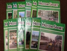 Motor Sport Magazine -  Complete Year of 1978 (12 editions) - Motorsport