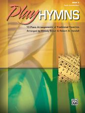 PLAY HYMNS-BOOK 3-EARLY INTERMEDIATE PIANO/KEYBOARD MUSIC BOOK-BRAND NEW ON SALE