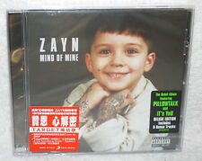 ZAYN MIND OF MINE Target Edition Taiwan CD w/sticker (20-trk) One Direction