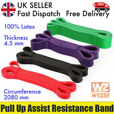 Pull Up Assist Resistance Bands Home Gym Fitness Lifting Workout 100% Latex