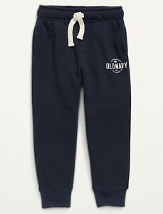 Old Navy Toddler Logo Graphic Straight Sweatpants ~ Size 2T ~ $20 ~ Drawstring